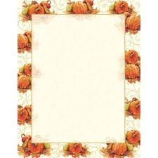 great papers pumpkin swirl letterhead 80 count walmart