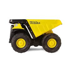 tonka steel toughest mighty dump truck toys