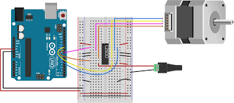 controlling stepper motors u2013 itp physical computing