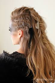viking warrior hair viking warrior halloween hairstyle missy sue