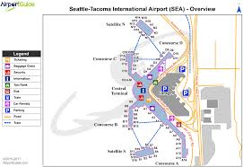 seattle airport terminal map seattle seattle tacoma international sea airport terminal maps
