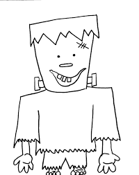 Creepy Halloween Coloring Pages by Halloween Frankenstein Coloring Pages Getcoloringpages Com