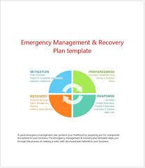emergency management recovery plan template u2013 clickstarters