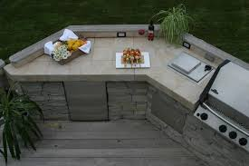 outdoor kitchen countertop ideas best outdoor kitchen countertops baytownkitchen