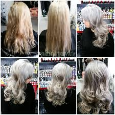 how to silver ash blonde career modern salon