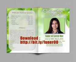 Funeral Program Designs Free Funeral Program Templates