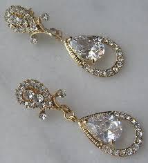 gold bridal earrings chandelier 42 best black gold wedding images on black gold