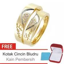cincin lapis emas cincin kawin perak lapis emas c 26 silver exclusive