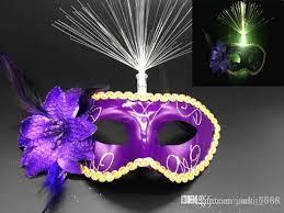 feather masks factory selling hot luminous feather masks masquerade mask mask
