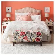 Storage Bench For Bedroom Bedroom Patterned Storage Bench Skyline Furniture Target