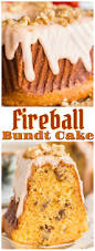 fireball cake with fireball glaze the gold lining