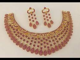 necklace set images images Stylish imitation necklace set jewellery designs fancy jpg