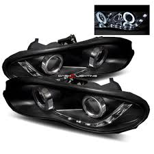 02 camaro headlights 98 02 chevy camaro led projector headlights black r8 style