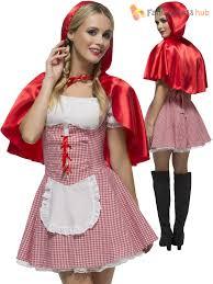 red riding hood halloween costumes ladies fever red riding hood costume book week fancy