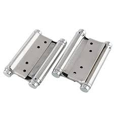 Double Swing Doors For Kitchen Deckey Pair Of 4 100mm Door Hinge Double Action Spring Hinges 2