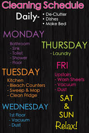 best 25 house cleaning schedules ideas on pinterest house