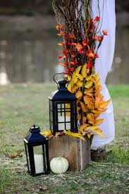 decorating with lanterns outdoors