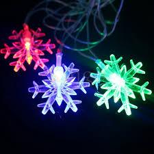 110v 220v eu us 4m 20led snowflake led string lights new