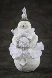 Myer White Christmas Decorations by 10 Best Snowpeople Images On Pinterest Christmas Ideas Paper