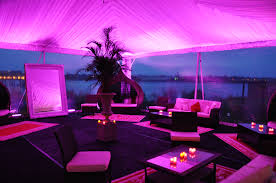 lounge tent purple uplighting angelina u0027s ristorante 399 ellis