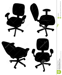 Office Chair Vector Side View Images Office Chair Silhouette