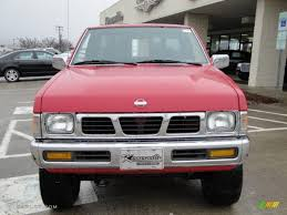 1995 nissan truck 1995 aztec red nissan hardbody truck se v6 extended cab 4x4