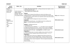 floor hockey unit plan year 3 4 hockey planning by philippaa teaching resources tes