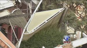 Porch Awnings Several Porch Awnings Collapse On West Philadelphia Block 6abc Com