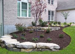 Terraced Retaining Wall Ideas by Landscaping Boulder Walls Boulder Retaining Walls Landscaping