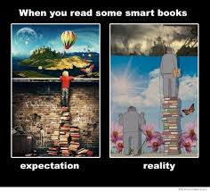 Books Meme - when you read some smart books weknowmemes
