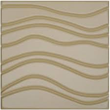 Textured Paneling Modern Wave Leather Paneling Textured Soft Wall Tile 15 7x15 7in