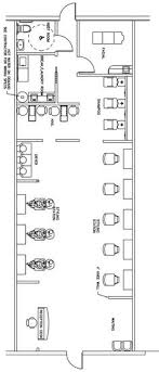 hair salon floor plans free beauty salon floor plan design layout 1400 square foot places to