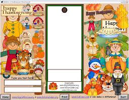 thanksgiving bookmarks