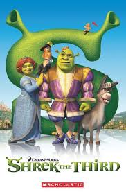 popcorn elt primary readers level 3 shrek book cd