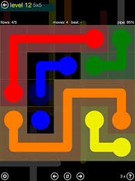 flow free by big duck games universal touch arcade
