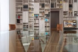 libreria ponte arredo open space e libreria a ponte contemporaneo salotto