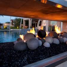 Sided Outdoor Fireplace - photos hgtv
