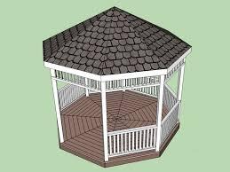 gazebo designs and plan modern gazebo designs for backyards