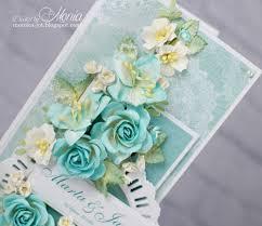 wild orchid crafts wedding card