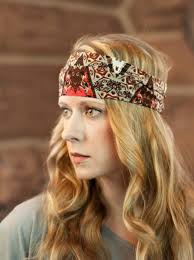 boho hair wrap wide boho headband stretchy printed headwrap band fabric