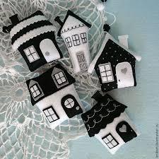 best 25 felt house ideas on felt ornaments patterns