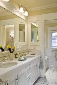 Recessed Bathroom Vanity by Copper Recessed Medicine Bathroom Victorian With Crown Molding