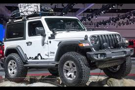 modified white jeep wrangler 2018 jeep wrangler modified with mopar parts autobics