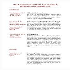 training calendar template u2013 25 free word pdf psd documents