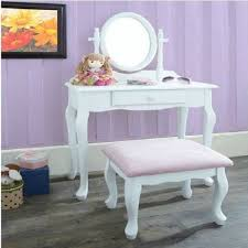 Childrens Desk And Stool Kid Vanity Table And Chair Home Furnishings