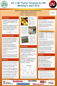 24 x 36 poster template powerpoint poster presentation template 36