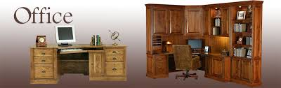 Solid Wood Office Desks Solid Wood Office Furniture American Made Home Office Desk