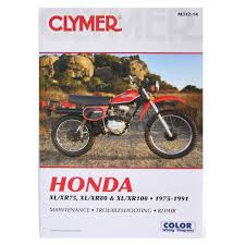 clymer repair manual honda xl xr 75 80 100 m312 14 manuals