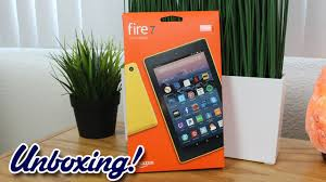 amazon black friday fire 7 unboxing amazon fire 7 tablet with alexa new for 2017 youtube