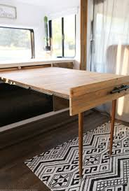 Pull Out Table by Space Saving Diy Pull Out Table Small Spaces You Ve And Spaces